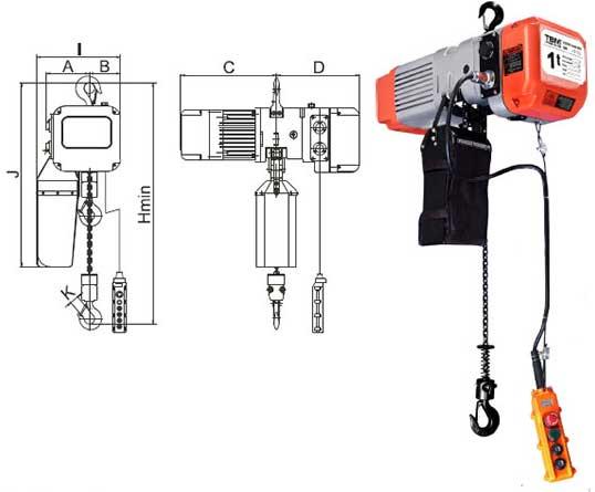 dizalica elektricna na lanac remex